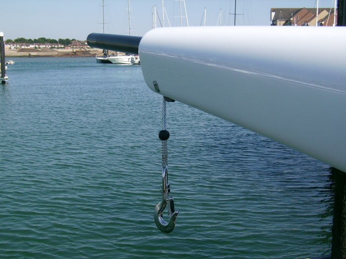 davits and yachting supplies Portsmouth Hampshire