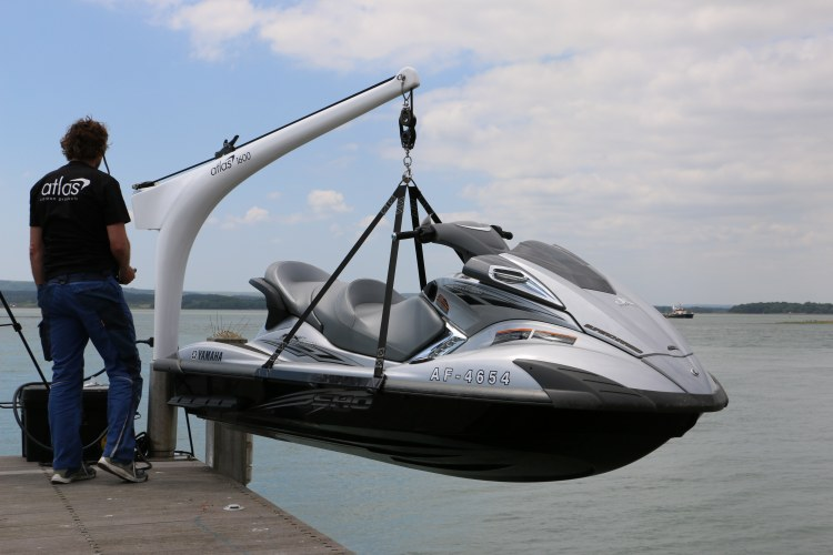 Atlas Carbon Davits Portsmouth Hampshire